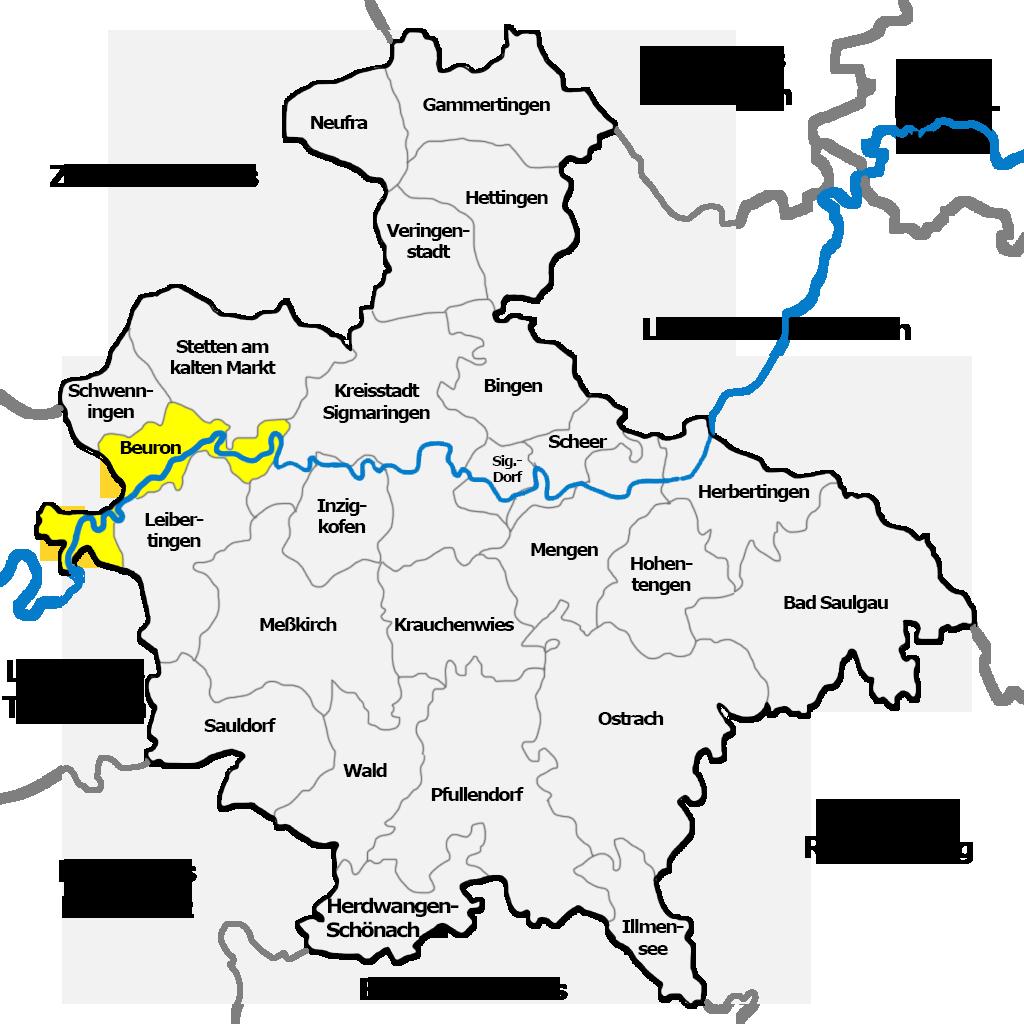 Beuron im LKR Sigmaringen